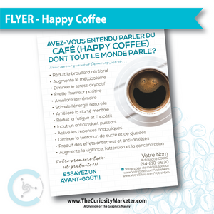 Flyer - Healthy Coffee - French Translation