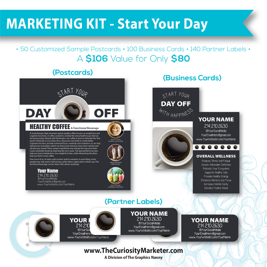 Marketing Kit - Start Your Day