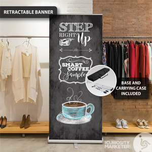 Vertical Banner - Step Right Up
