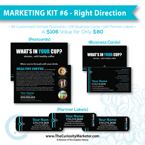 Marketing Kit #6 - The Right Direction