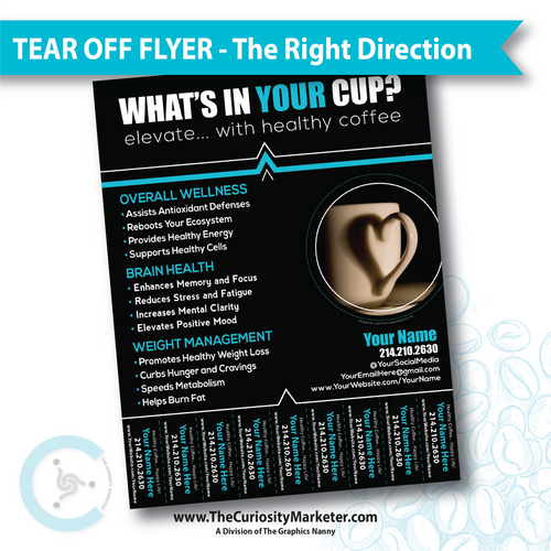 Tear Off Flyer - The Right Direction