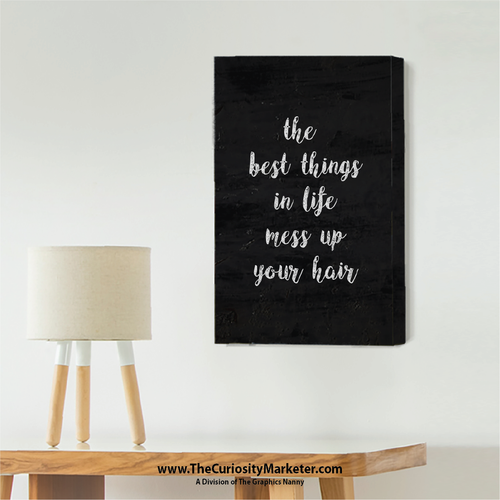 Wall Art - Canvas Wrap Print - The Best Things