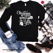Long Sleeve Tee - Christmas Cheer
