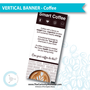 Vertical Banner - Coffee
