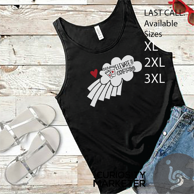 LAST CALL - Elevate Your Coffee Tank Top