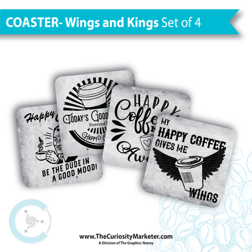 Coasters - Wings and Kings