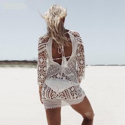 Morocco Lace Cover Up