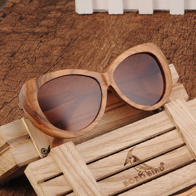 Sunset Beach Bamboo Sunglasses