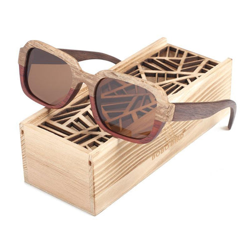 Miami Bamboo Sunglasses