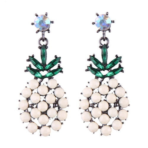 Haiti Pineapple Earrings