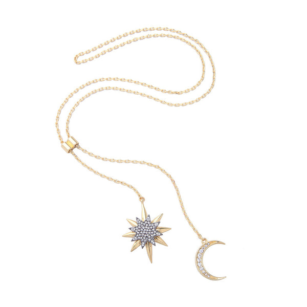 Crescent Star Pendant