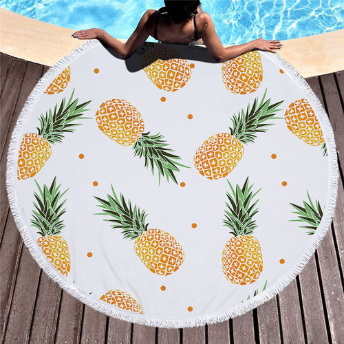 Whitehaven Round Beach Towel