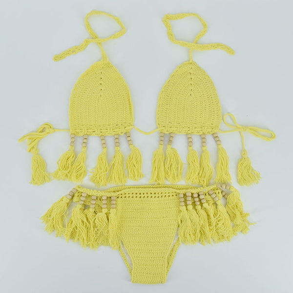 Californian Crochet Bikini Swimsuit