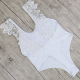 Luxe Lace One Piece Swimsuit