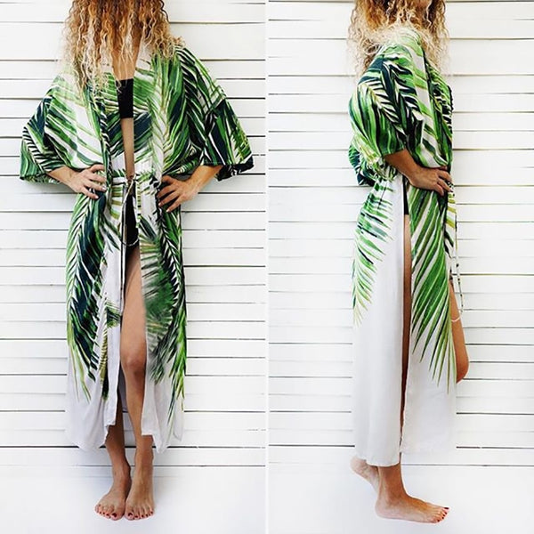 Tropical Summer Cover Up