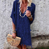 Sea Shore Vintage Mini Dress