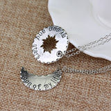 My Sun, Stars and Moon Necklace