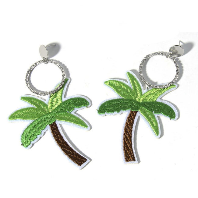 Malibu Palm Earrings
