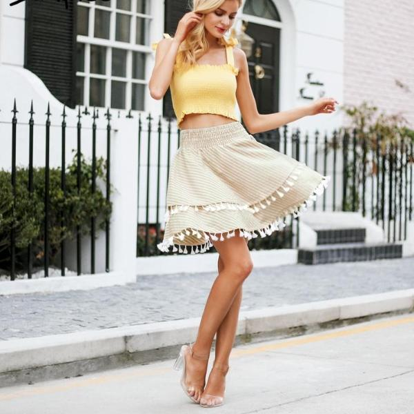Monco Tassel Skirt