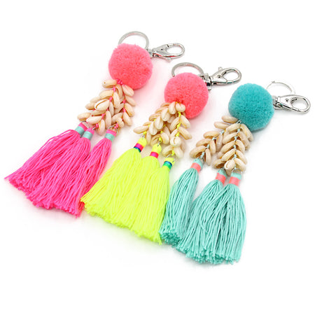Ocean Haze Charm Key Chain