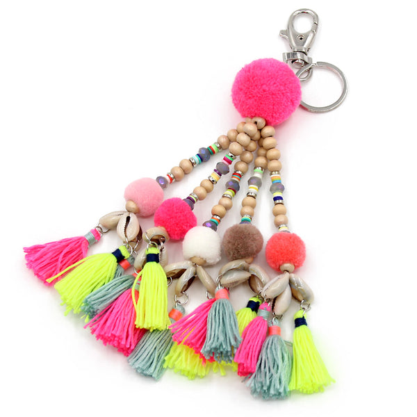 Tropical Sun Key Chain