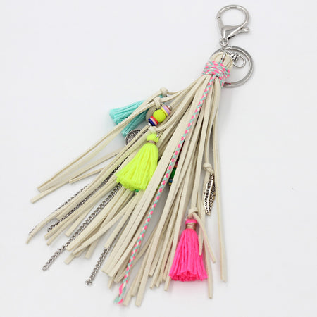 Rainbow Charm Key Chain