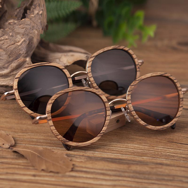 Bella Bamboo Sunglasses