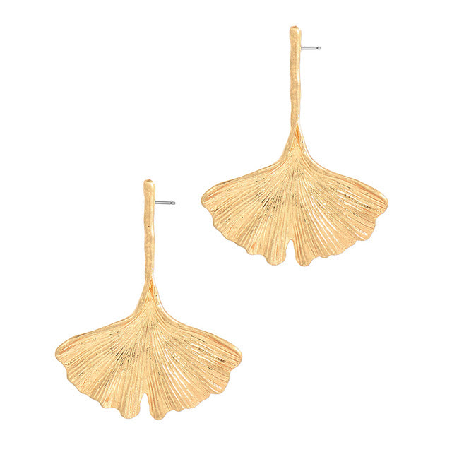 Hibiscus Leaf Earrings