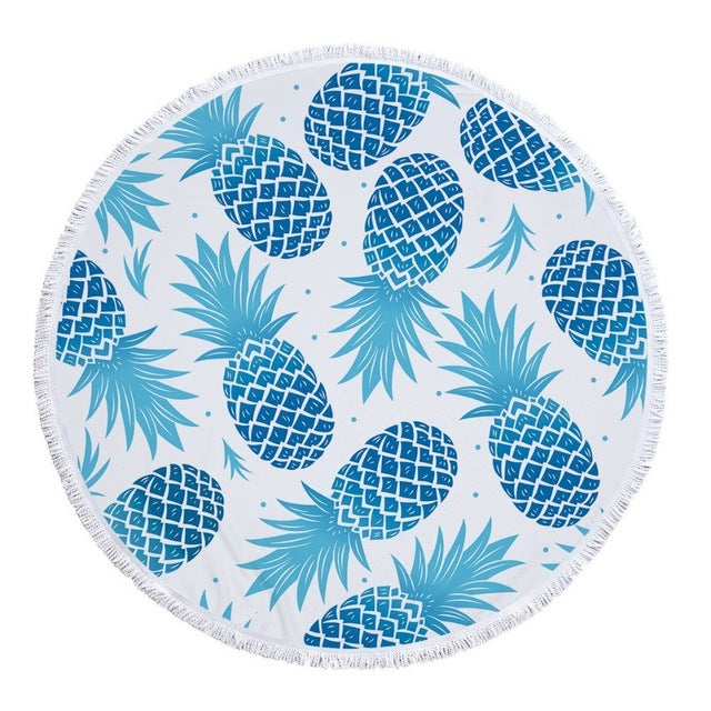 Isla Round Beach Towel