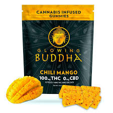 Chili Mango 100mg Gummy Pack by Glowing Buddha