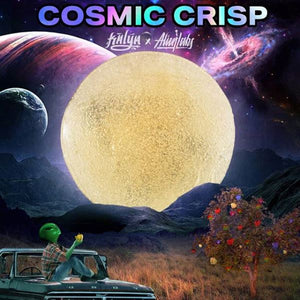 Cosmic Crisp Live Rosin, a Kalya x Alien Labs Collaboration