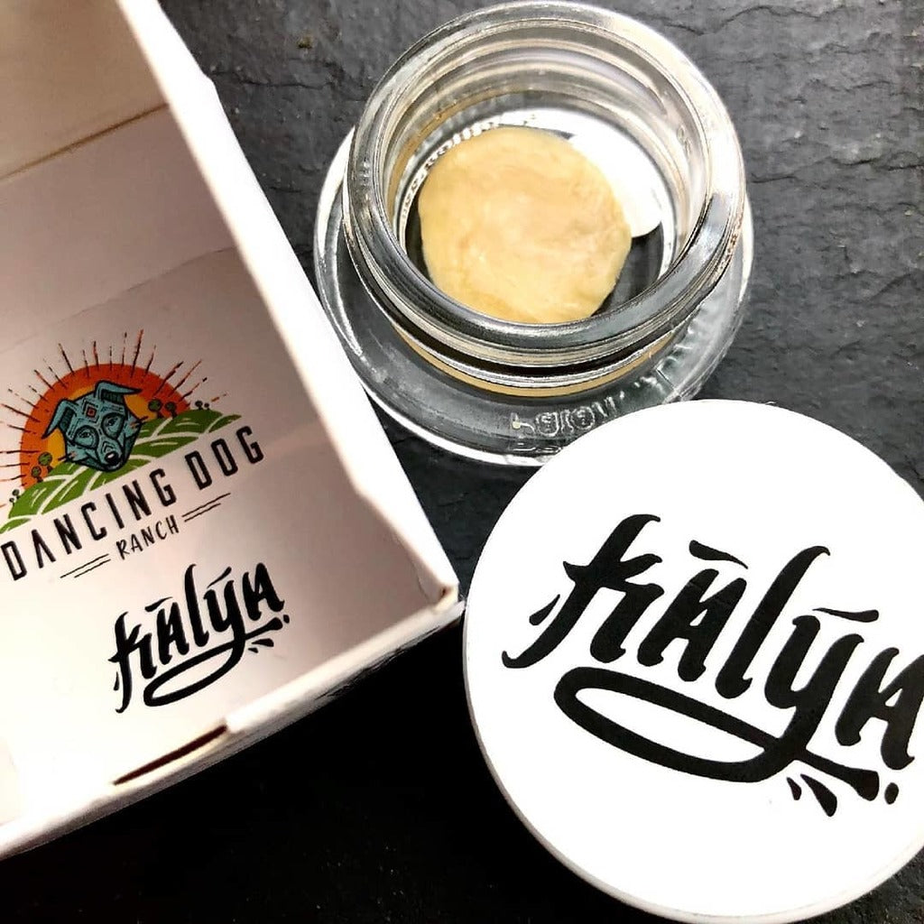 Garlic Juice Live Rosin, a Kalya x Dancing Dog Collaboration