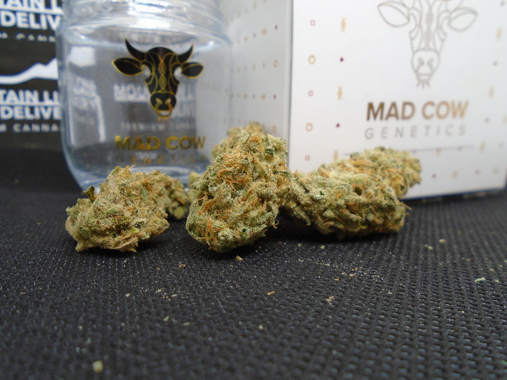 Black Jack 1/8th Jar by Mad Cow Genetics