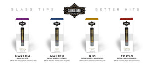 Gold Cartridge Line by Sublime *Now Available in Full Grams!*