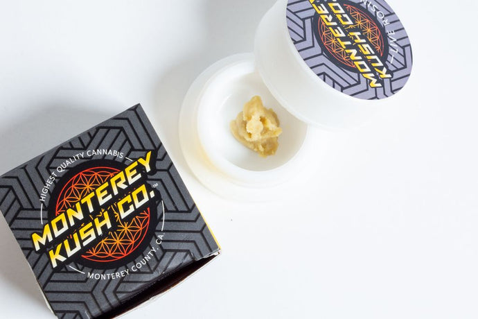 Tropical Slushie Live Rosin by Monterey Kush Co.