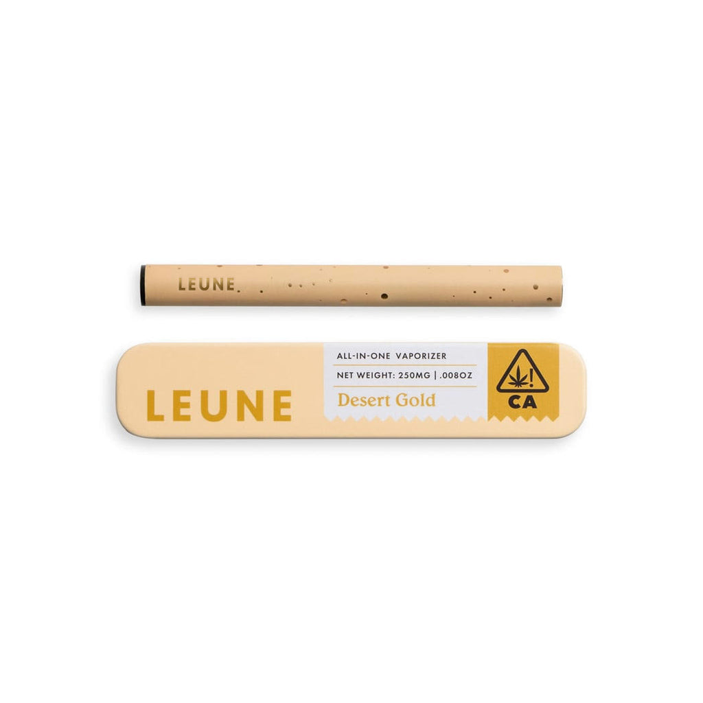 Desert Gold All-in-One Vape by Leune