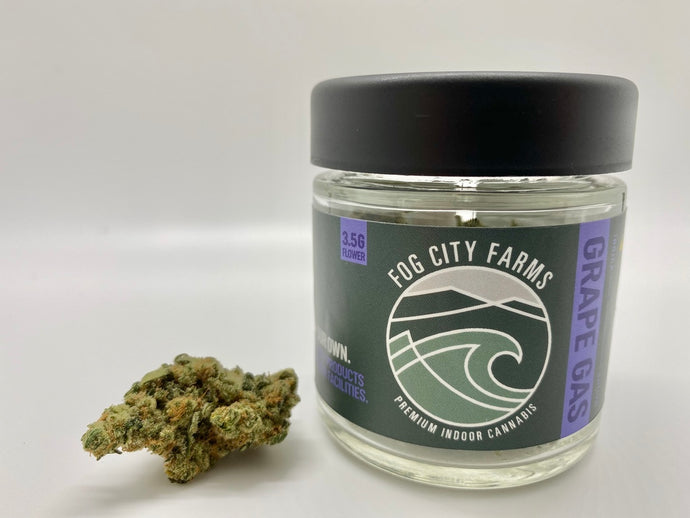 Grape Gas 1/8th Jar by Fog City Farms