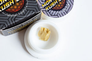 Jedi Fuel Live Rosin by Monterey Kush Co.