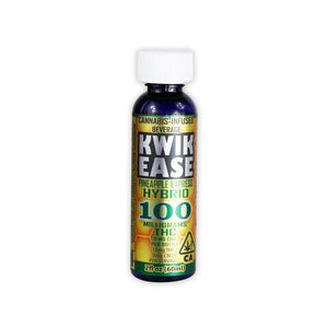 KWIK Ease 100mg THC Beverage Shot by Manzanita & Madrone