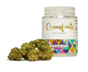 Durban Poison 1/8 Jar by Cannafornia