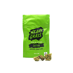 Purple Gorilla Glue 1/8th Oz. Bag by Heavy Grass