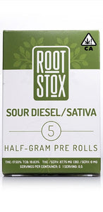 2.5g Preroll Packs by Root Stox