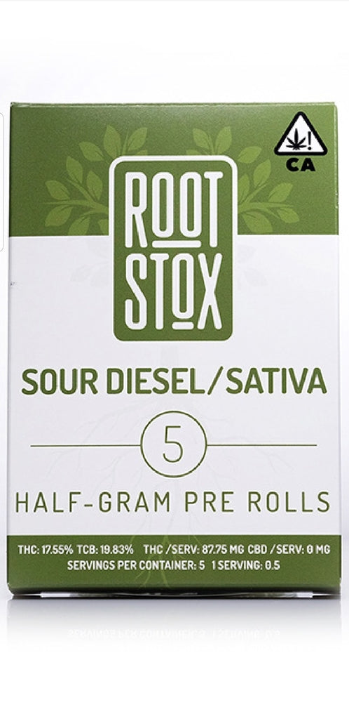 Dog Walker 2.5g Preroll Packs by Root Stox