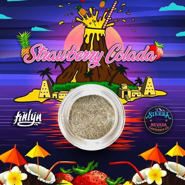 Strawberry Colada Live Rosin, a Kalya x Sierra Nevada Collaboration