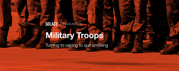 Military Troops Turning to Vaping to Quit Smoking