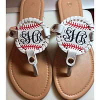 Monogrammed / Personalized Sandals Sizes 6-11 available