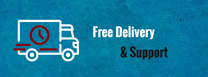 Free Delivery & Welding Helmet Support