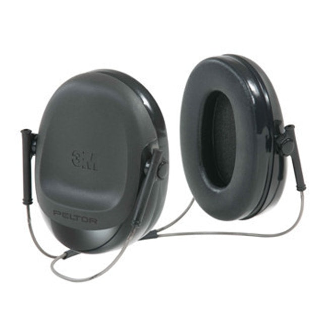 Slim Earmuffs for Welding Black Neckband 3M H505B
