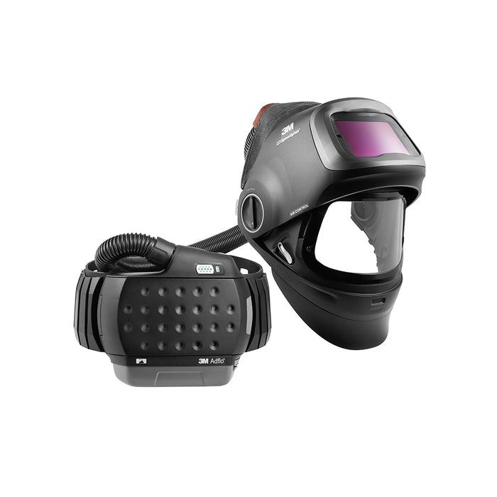 3M Speedglas Heavy-Duty Flip-Up Welding Helmet G5-01 with Adflo PAPR