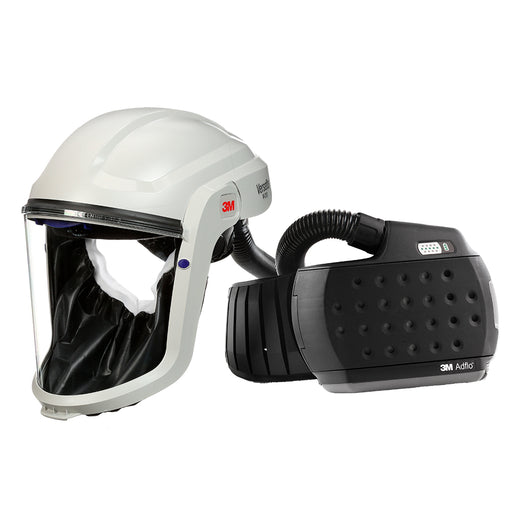 890207HD 3M™ M-Series Face Shield M-207 with Heavy-Duty Adflo PAPR Respirator